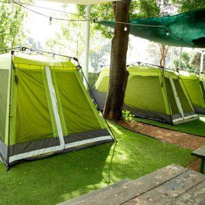 אוהל גרין קמפינג כפר בלום