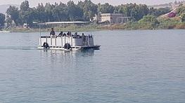 סירת גלילאה עד 12 אנשים מוקטן לכרטיס