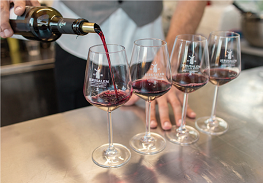 pouring wines